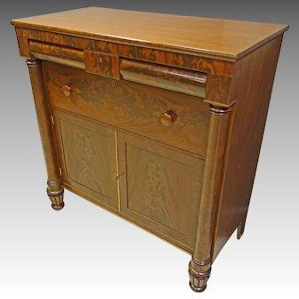 Empire Mahogany Jackson Press Cabinet