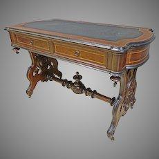 Victorian Library Desk