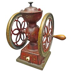 Small Enterprise #2 Coffee Grinder dated 1873