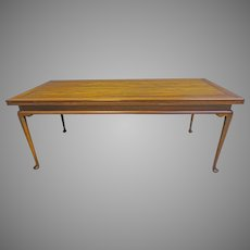 Walnut Dining Table by Kittinger