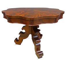 Mahogany Empire Center Table