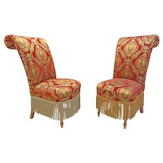 Pair of Decorator Chairs