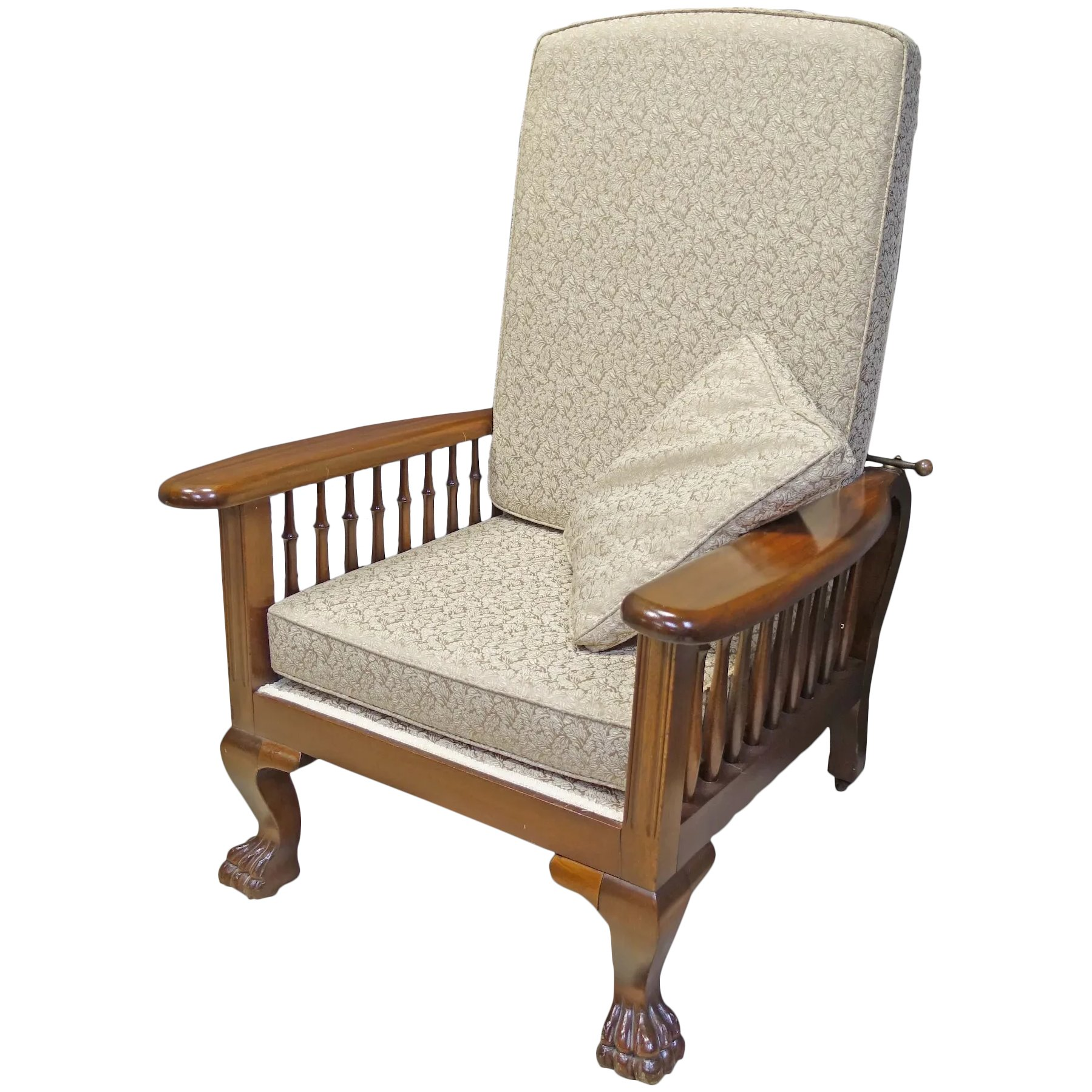 Brilliant Mahogany Morris Chair Recliner Alphanode Cool Chair Designs And Ideas Alphanodeonline