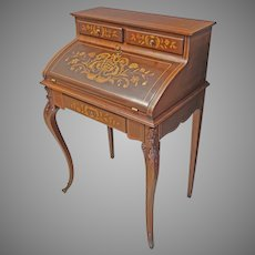French Style Inlaid Lady's Desk