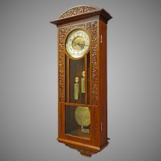 Vienna Regulator Wall Clock by Gustav Becker