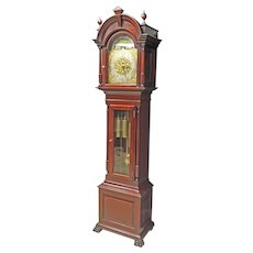 Mahogany Tall Grandfather Clock - Westminster Chime, Elite