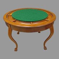 Flip Top Poker or Game Table, Metamorphic Furniture