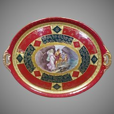 Hand Painted Platter by Royal Vienna