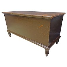 Pennsylvania Dovetailed, Painted Blanket Chest