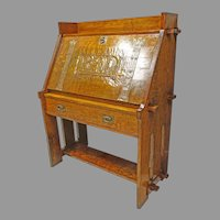 Art & Crafts Oak Desk