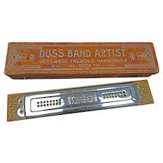 Duss Band Artist Tremolo Harmonica