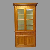 Pennsylvania Cherry Corner Cupboard, Cabinet