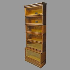 Mission Oak Barrister Bookcase by Macey
