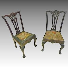 Pair Chippendale Centennial Chairs