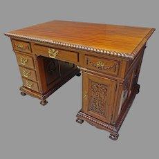 Mahogany Centennial Partner's Desk