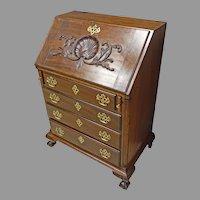 Mahogany Centennial Drop Front Desk