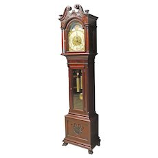 Mahogany Grandfather, Tall Clock by Elliott, London