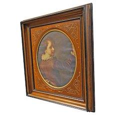Victorian Deep Walnut Frame