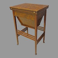 English Sewing or Work Table by Arm & Navy CSL