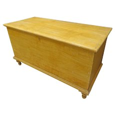 PA Grain Painted Blanket Chest