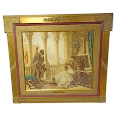 Othello Framed Print by Artist Ludwig Becker