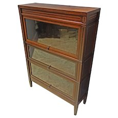 Stacking Barrister Bookcase by Globe-Wernicke