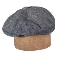 Stetson 1960s-70s Eight Panel Newsboy/Golf Flat Cap Vintage Hat