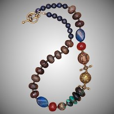 'Top of the World' Multi-Gemstone Necklace