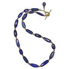 Luxurious Lapis Lazuli Necklace