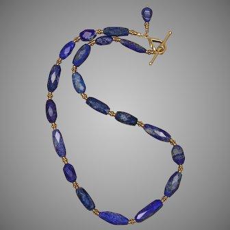 Luxurious Lapis Lazuli Necklace
