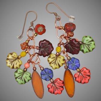 Falling Leaves Earrings