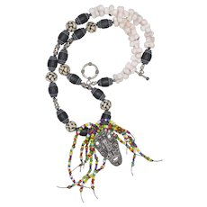 Tribal Mask Necklace