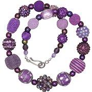 Purpleclectic Necklace