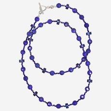 Ultramarine Blue Lapis Lazuli Necklace