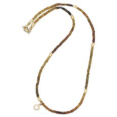 Autumn Tourmaline Necklace