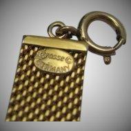 Henkel and Grosse Bracelet Golden Mesh Bracelet
