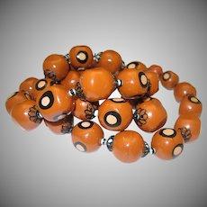 Art Deco Necklace Dots