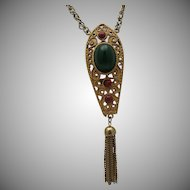 Egyptian Style Pendant Necklace