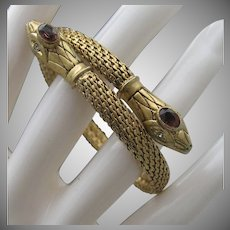 Two headed Snake Bracelet