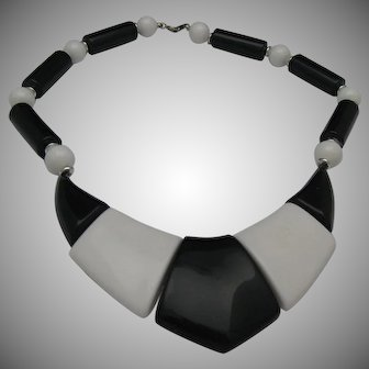 Op Art Necklace London