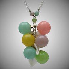 Pastel Bubbles Summertime Necklace