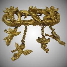Botticelli Cupid Brooch