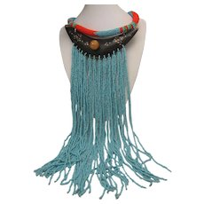 Maasai Tribal Beaded Necklace