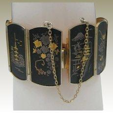 Japanese Damascene Bracelet