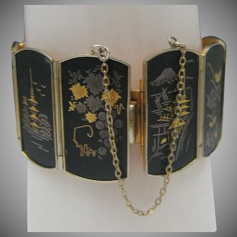 Japanese Damascene Bracelet