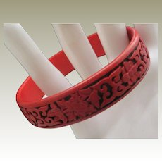 Cinnabar Bracelet c1970