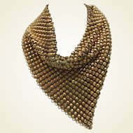 1940 Mesh Scarf Necklace