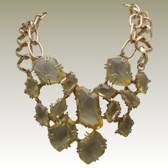 French Runway Necklace c1980