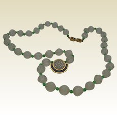 Signed Givenchy Mid-Century Style Necklace