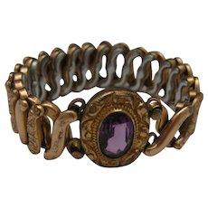 Amethyst Sweetheart Bracelet 1940